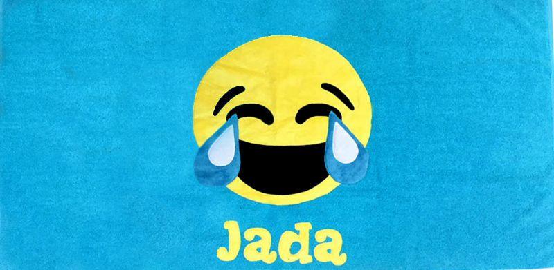 Emoji Laugh Cry :: Camp Gear